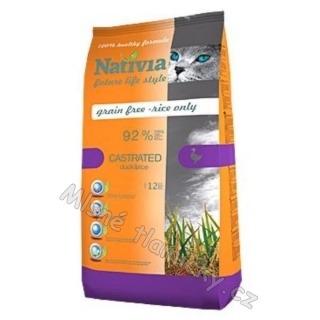 Nativia Cat Castrated 10kg